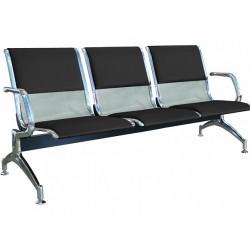 Секция стульев с перфорацией YH1-1 для торговых центров