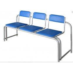 Секция стульев полумягкая СС-430 стопируемая