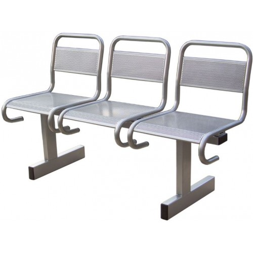 Секция стульев разборная с перфорацией СС-482 (аналог Вояж)