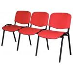 Секция стульев Изо трехместная