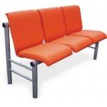 Секция кресел для медицинских учреждений YH-19-03 с увеличенной толщиной сидений