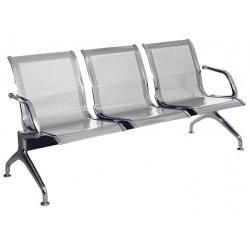 Секция стульев  перфорированная J19-3 разборная