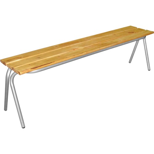 Уличная скамейка М111-017 деревянная