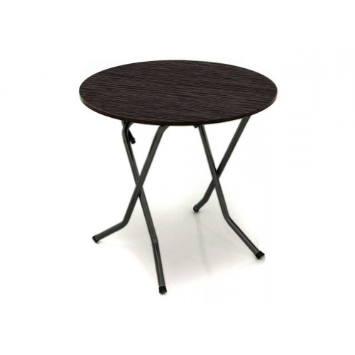 Складной круглый обеденный стол D800