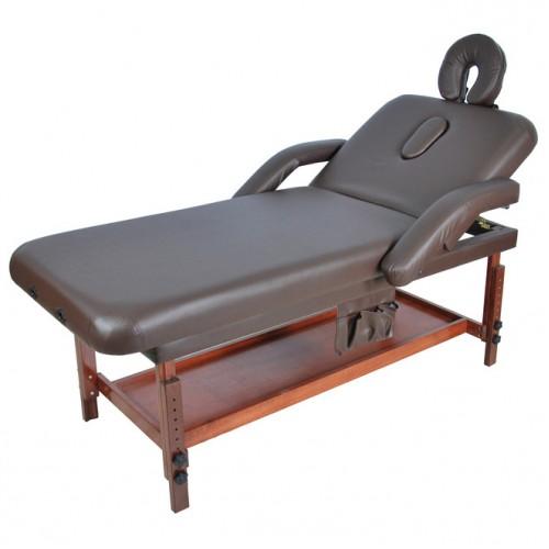 Стол массажный на деревянном каркасе ММ-МС-7Л