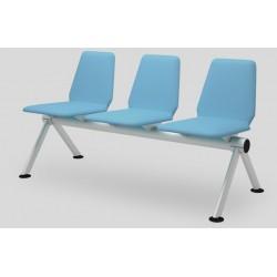 Многоместные кресла YH 30/2 мягкие для зоны ожидания