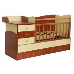 Кроватка-трансформер ТФ-1400 детская