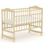 Кровать для младенца ТФ-204 деревянная