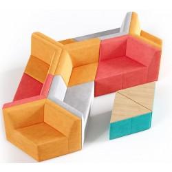 Модульный диван Оригами