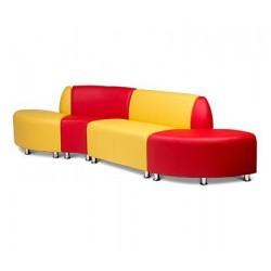 Модульный диван Микс для зоны отдыха и ожидания