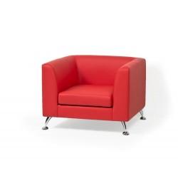 Одноместный диван Ева1  для зоны ожидания