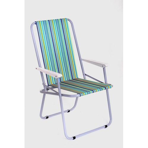 Кресло складное туристическое с мягким сиденьем КС-02