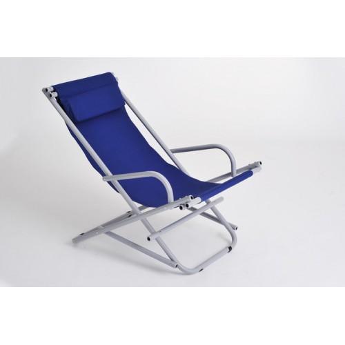Шезлонг-кресло  КС-06 инерционное