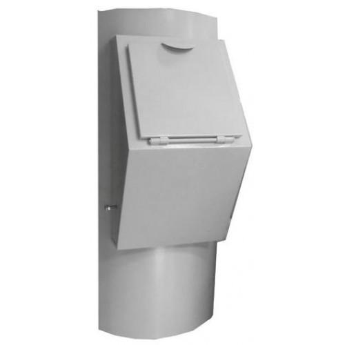 Клапан мусоропровода загрузочный К-1100.18 увеличенной высотой