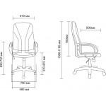 Кресло руководителя AV-101 (аналог Либерти)
