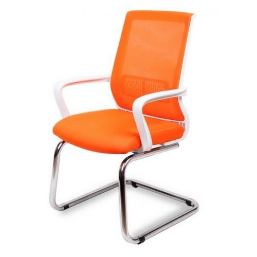 Кресло Оптима хром на конференц основе