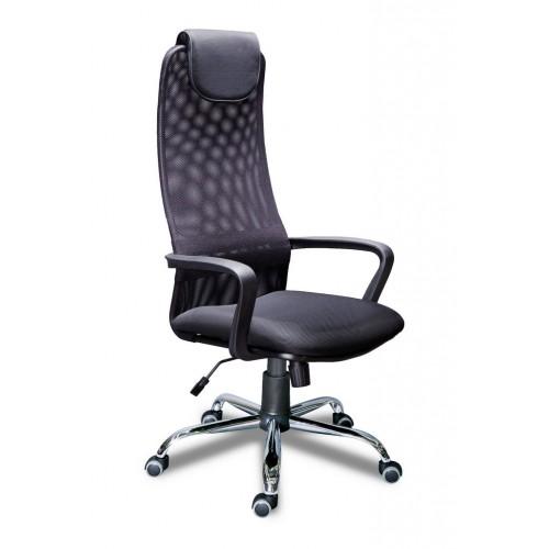 Кресло администратора МГ-8 высокая спинка, крестовина хром