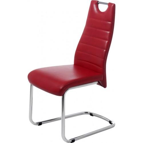 Кресло лабораторное полиуретановое Гема высокое с кольцом для ног