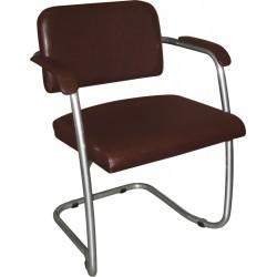 Кресло на полозьях для посетителя М36-04