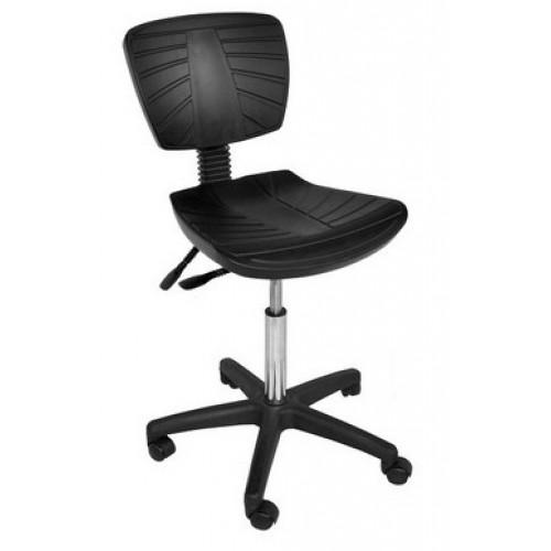 Кресло лабораторное полиуретан Гема низкое