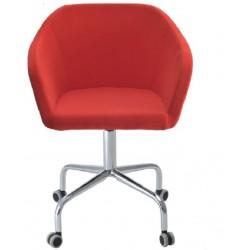 Кресло для посетителя Коко G на колесах