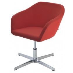 Кресло подъемно-поворотное Коко X  на металлической крестовине