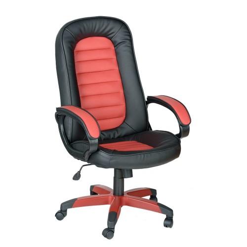 Кожаное компьютерное кресло СПРИНТ У