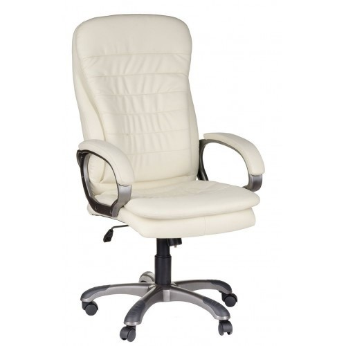 Кресло для домашнего кабинета с мягкими подлокотниками СИЛУЭТ У