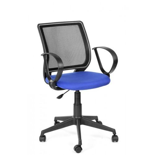 Кресло для персонала  Эксперт-стильное офисное кресло с дышащей спинкой