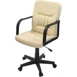 Кресло менеджера F-ЧериА с низкой спинкой