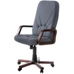 Кресло для сотрудников F-Менеджер с высокой спинкой