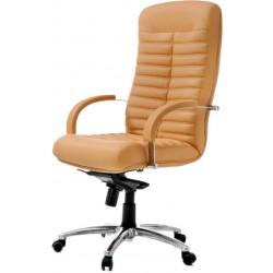 Кресло для рабочего кабинета F-Орион со стеганой спинкой
