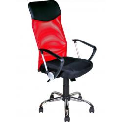 Кресло офисное AV-128 сетка+экокожа в стиле хай-тек