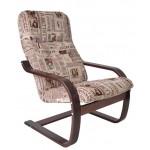 Кресло для отдыха Сайма на деревянных полозьях