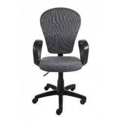 Кресло компьютерное AV-208 с регулировкой спинки