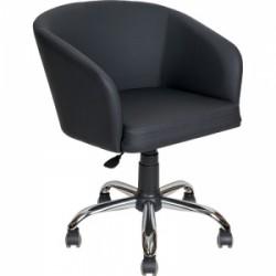 Кресло клиента  AV-223 на хромированном каркасе