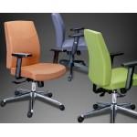 Кресло администратора МГ19 люкс с регулируемыми полиуретановыми подлокотниками