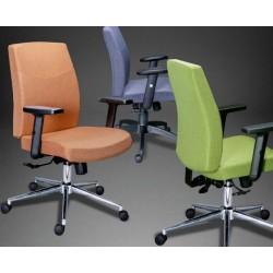 Кресло администратора МГ19 люкс с регулируемыми подлокотниками