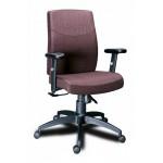 Кресло персонала МГ19 пластик с полиуретановыми подлокотниками