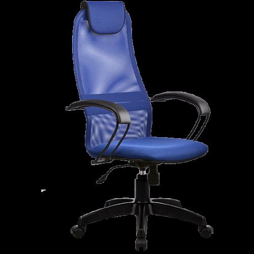 Кресло офисное МТ-ВР-8 с высокой сетчатой спинкой