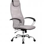 Кресло руководителя МТ-ВК-8 хромированное с высокой спинкой