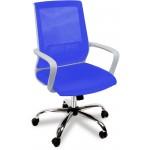 Кресло компьютерное Оптима люкс-крестовина хром, сетка