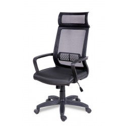 Кресло для персонала Оптима с подголовником