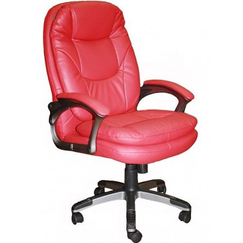 Кресло офисное кожаное STNika с мягкими накладками