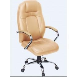 Кресло руководителя классическое  F-Кольт хромированное