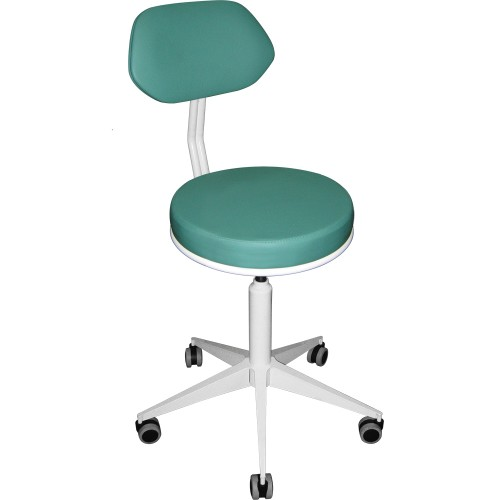 Кресло винтовое М106-01 без подлокотников на колесах