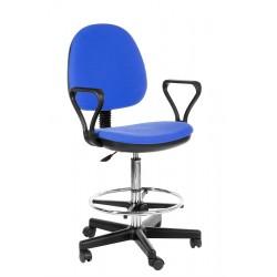 Кресло кассира Регал с опорой для ног