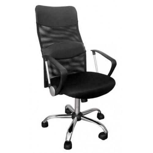 Кресло для персонала STArgo высокая спинка-сетка