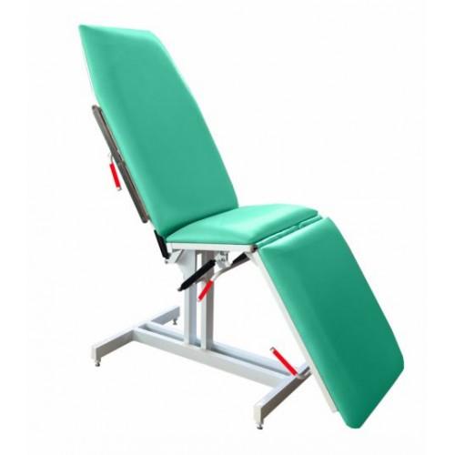 Кресло-кушетка медицинское  Н137-10 на пневмопружинах с фиксированной высотой
