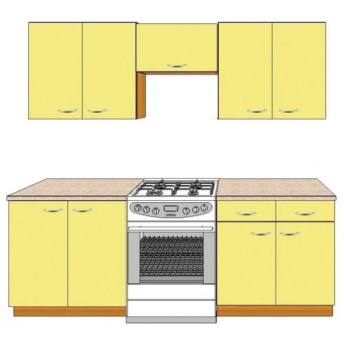 Кухня бюджетный вариант  ЛАТИНА-13